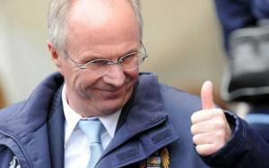 Thumbs up for Sven?