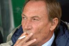 Zdenek Zeman: enjoying a cigarette, probably not his team's defending