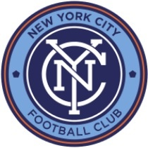 Inner circle courtesy of the Yankees, outer Man City