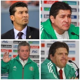 Four Mexican coaches since 2013. Chaotic.